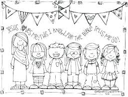 Jesus Loves Children Coloring Page Loves Children Coloring Page The
