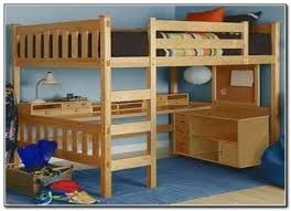 bunk bed with desk underneath for s