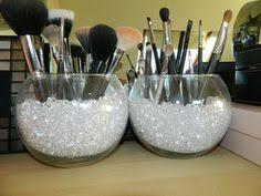 makeup brush holder beads. 11 diy homemade makeup box ideas. brush storagemakeup holder beads