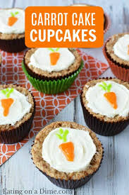 Easy Carrot Cake Cupcakes Recipe Carrot Cake Muffins