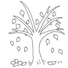 Small Picture Kindergarten Fall Tree Coloring Pages Fall Kindergarten Nature