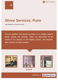 Designer Awning Pune Maharashtra Shree Services Pune Roller Blinds