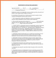 independent contract template 4 simple independent contractor agreement template purchase