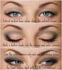 description how do you apply eyesahdow to hooded eyes