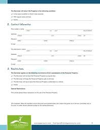 Family Loan Template Personal Family Loan Agreement Template Free Printable Form Generic