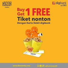 Free Tiket Buy 1 Get 1 Free Movie Ticket At Flix Cinema Gotomalls