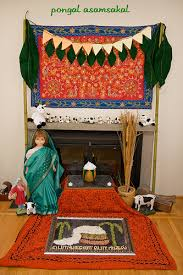 pongal decortions with golu office decor for pongal7 decor