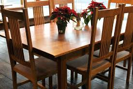 full size of mission style dining set mission style dining chair with natural color varnished oak