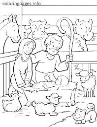 Manger Coloring Page Jumppartyorg