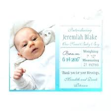 Blessed With Baby Boy Announcement Announcements Jwintz