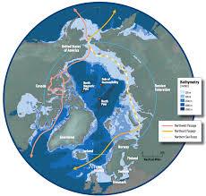 Polar Routes Charts Arctic Shipping Routes Wikipedia