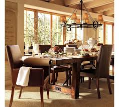 brown dining room decor. astounding picture of dining room decoration for your inspiration : incredible rustic using brown decor