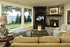 traditional living room with tv. Traditional Living Room Ideas With Fireplace And Tv Glass Coffee Table Sconce In O