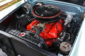 Impala Engine Options: 1958