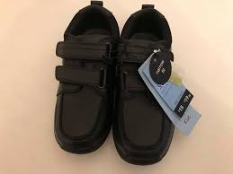 brand new tesco f f boys size 1 school shoes with 15 tags
