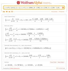 electronic circuit calculation with wolframalpha