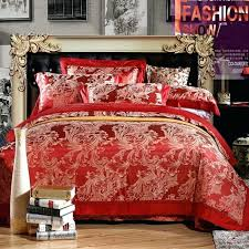 rust duvet cover uk arnigu europe style double bed bedclothes rust red duvet quilt cover sheet