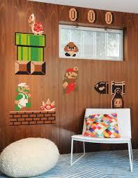 Super Mario Bros Bedroom Decor Super Mario Bros Re Stik Blik