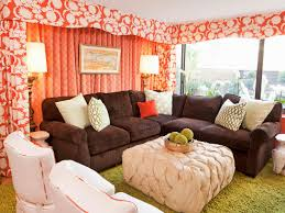 Of Living Rooms With Brown Furniture Decorate Behind The Sofa Diy Network Blog Made Remade Diy