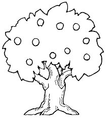 bare apple tree clipart. apple black and white tree clipart bare p