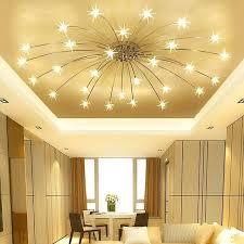 modern minimalist led living room ceiling lamps bedroom lights creative starry sky restaurant fixtures ideas room ceiling lights