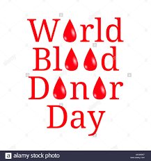 Holiday Name World Blood Donor Day Concept Of Medical Holiday White