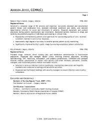 sample nurse cover letters
