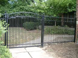 picket fence double gate. Flat Top With Arched Gate EFF-20 Double Pickets Picket Fence
