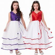Prom Dress Color Chart New Pincess Pageant Flower Girl Dresses Prom Gown Kids Special Occasion Dress Children Performance Dresses Ghtf45 Girls Yellow Dresses Little Rosie