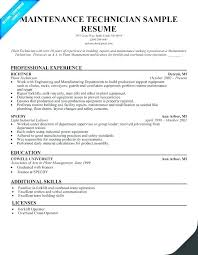 Resume For Maintenance Worker Best May 48 Ptctechniques