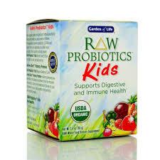 garden of life raw probiotics kids 96 g