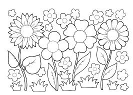 Kleurplaten Van Lentebloemen