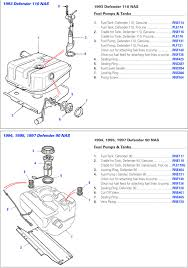 land rover fuel pump diagram wiring diagrams best defender fuel pump rovers north land rover parts and accessories land rover power steering hose land