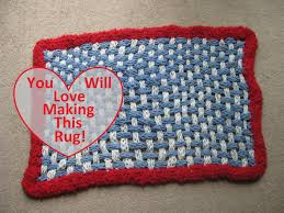 How To Knit A Rug How To Make A Finger Knit Rug Youtube