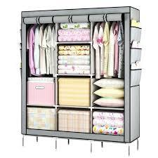 clothes wardrobe prevail clothes closet portable wardrobe storage organizer with shelves durable dog clothes wardrobe closet