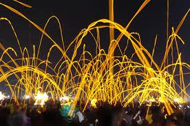 Image result for glow sticks at jam concert