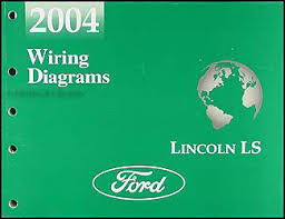 2004 lincoln ls wiring diagram manual original