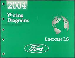 lincoln ls wiring diagram manual original