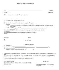 Free Eviction Notice Template Sample Eviction Notice Form Printable Eviction Notice Template Free Word Document Forms