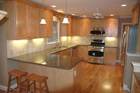 Great Image Of: Light Brown Kitchen Cabinets