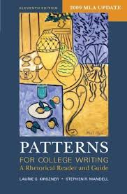 Patterns For College Writing Adorable Patterns For College Writing Isbn 48 48