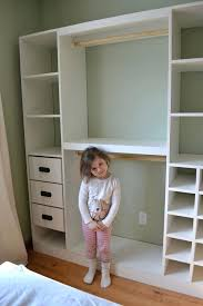 outstanding diy closet shelves now she wants one too and rods