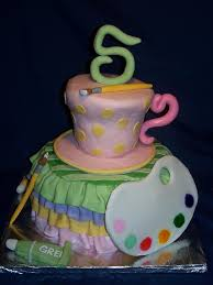 pottery painting party birthday cake divinedessertstampa com