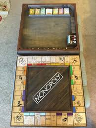 Homemade Wooden Games This Solid Wood Monopoly Board Is Hiding An Incredible Secret 94