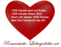 Romantische Liebesgedichte Sprüche Texte Gedichte