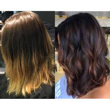 Balayage Low Light Winterizing Hair Color