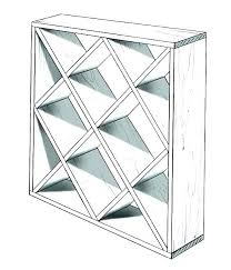 plans for wine racks rack template diamond stained glass storage bottle plan