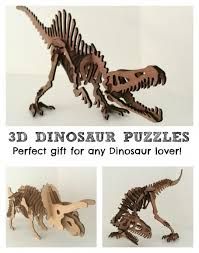 3d dinosaur puzzles such a great gift idea
