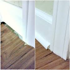 Tips For Caulking Trim Installing Laminate Flooring Part 2 The Finishing Touches My