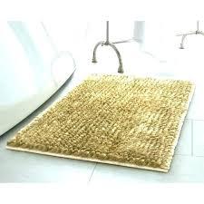 yellow bath rugs sets